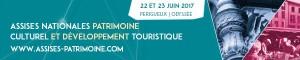 logo les assises du patrimoine culturel 22 23 juin 2017